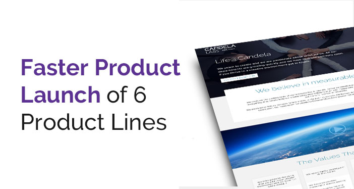 Faster Product Launch of Product Lines